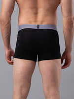 Load image into Gallery viewer, Underjeans Black Cotton Trunk - Pack of 2