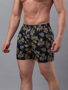 Underjeans Blue Cotton Boxers