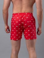 Load image into Gallery viewer, Underjeans Red Cotton Boxers - Pack of 2