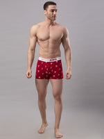 Load image into Gallery viewer, Underjeans Maroon Cotton Trunks - Pack of 2
