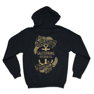 Load image into Gallery viewer, Salt Spring Kitchen Co. Graphic Tattoo Anchor Hoodie