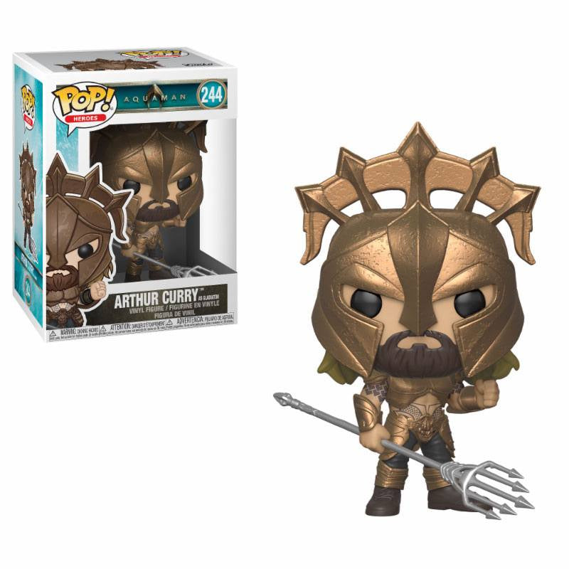 DC : AQUAMAN - Arthur Curry (as Gladiator) #244 Funko Pop!