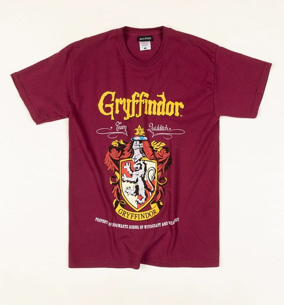 HARRY POTTER - Gryffindor Crest Red t-shirt