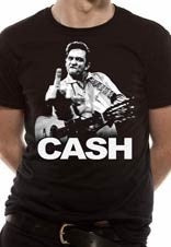 JOHNNY CASH - Finger t-shirt
