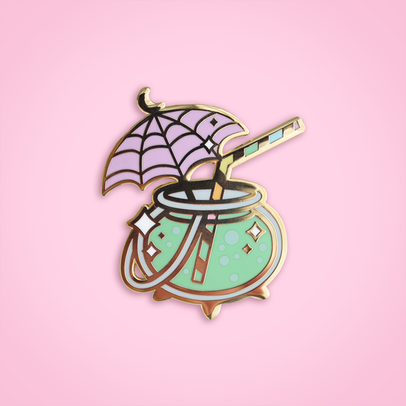 Caldron Cocktail pin