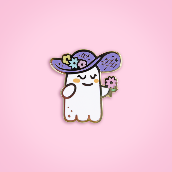 Flower Ghoul pin