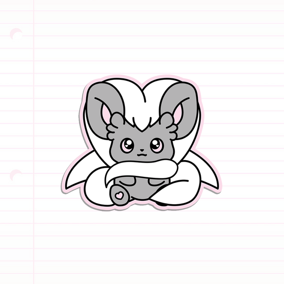 Cinccino sticker