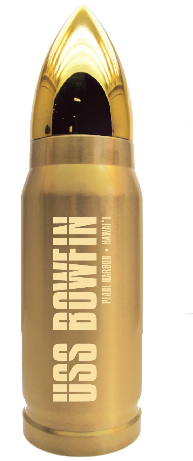 USS BOWFIN BULLET WATER BOTTLE