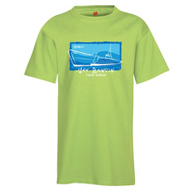 Load image into Gallery viewer, YOUTH USS BOWFIN TEE LIME