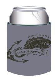 USS BOWFIN TATTOO COOZIE