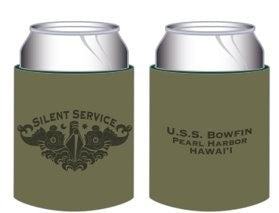 SILENT SERVICE TATTOO COOZIE