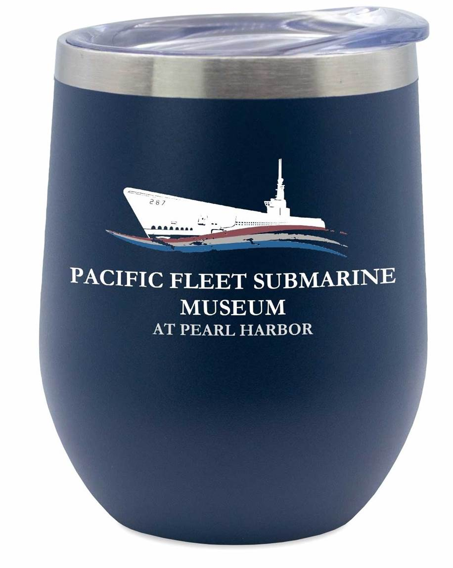PACIFIC FLEET SUBMARINE MUSEUM WINE TUMBLER