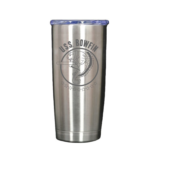 STAINLESS STEEL BOWFIN TUMBLER