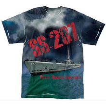 Load image into Gallery viewer, YOUTH USS BOWFIN SUB TEE