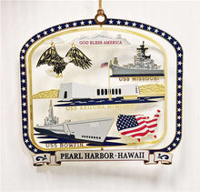 Load image into Gallery viewer, PEARL HARBOR SITES ORNAMENT
