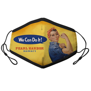 YOUTH ROSIE THE RIVETER FACE MASK