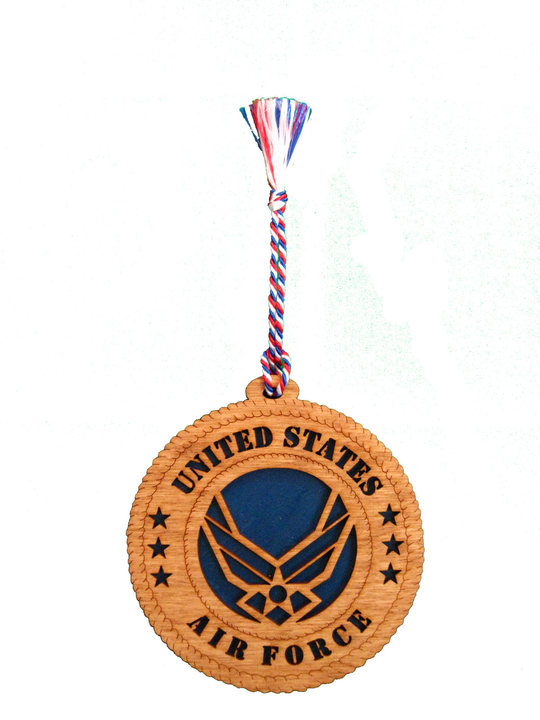 AIR FORCE WINGS WOOD ORNAMENT