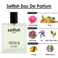 Selfish Eau De Parfum - Floral Romantic Fragrance For Women