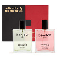 Bonjour and Bewitch perfume