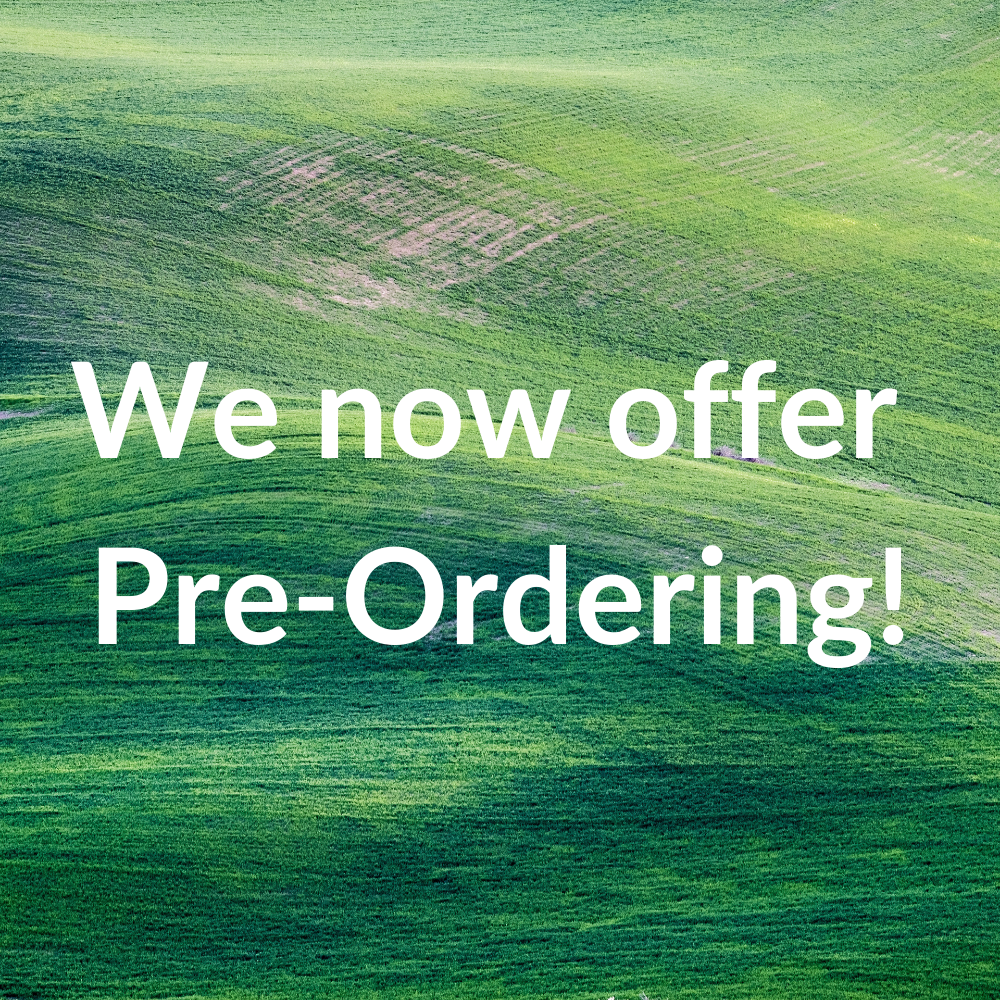 We now offer Pre-Ordering!