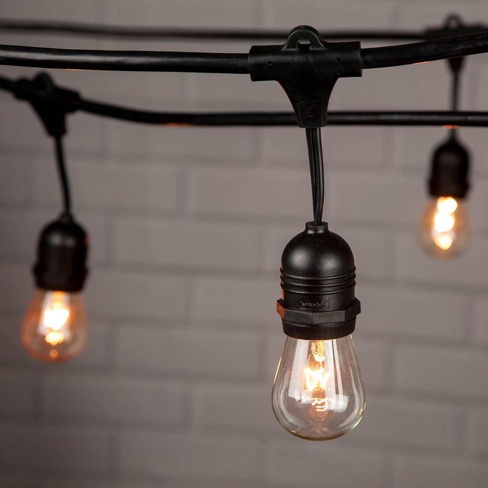 S Style Sign Bulb String Lights