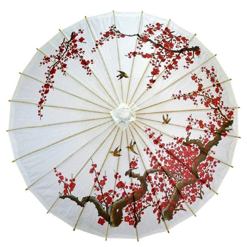 Patterned Paper Parasols