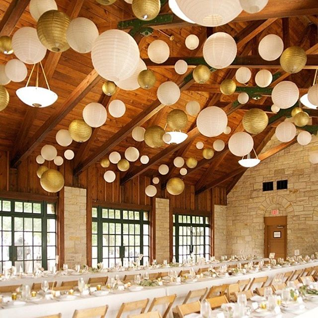 Paper Lanterns in All Shapes & Sizes