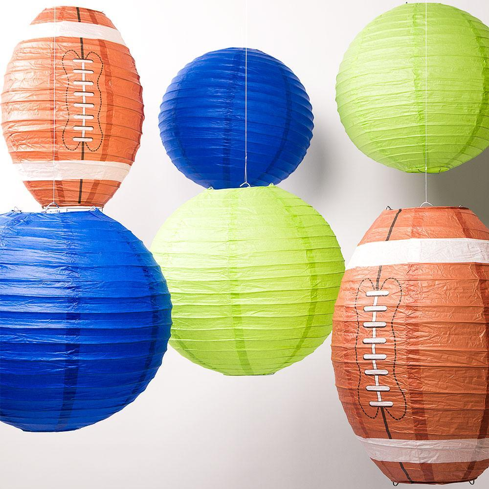 Sports Themed Paper Lanterns