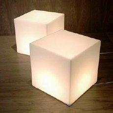 "CLOSEOUT 12"" Waterproof LED Rainbow Lighted Cube Light - Luna Bazaar 