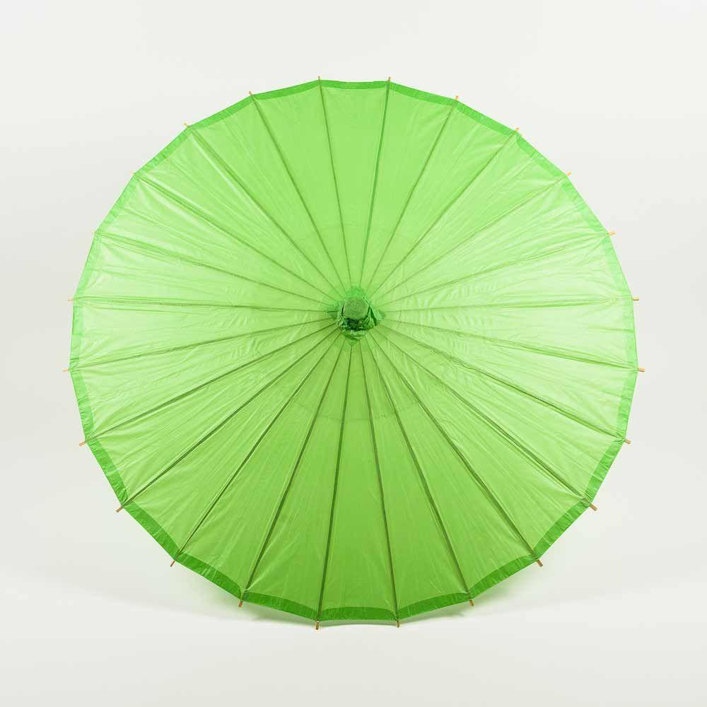 "20"" Grass Greenery Paper Parasol Umbrella for Weddings and Parties - Great for Kids (Sun Protection) - Luna Bazaar 