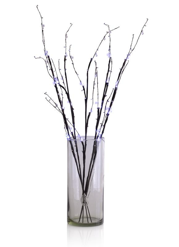 "32"" White LED Light Up Branches, Floral Decoration (Battery Operated) - Luna Bazaar 
