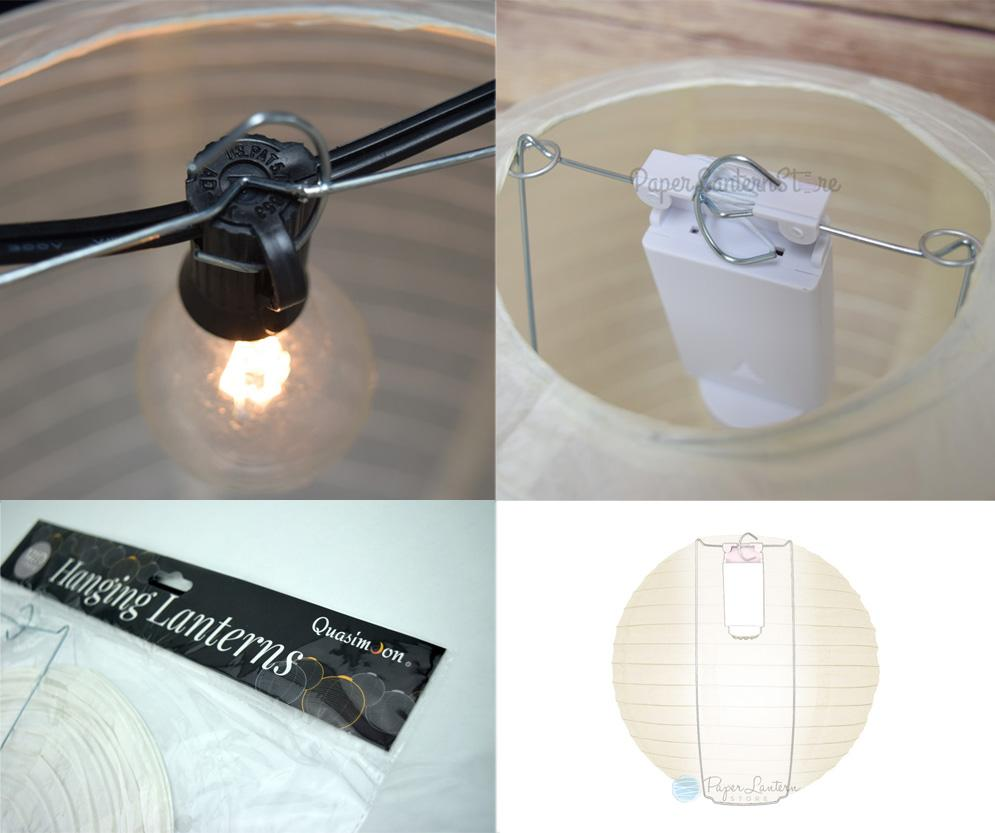 "20"" Lavender Free-Style Ribbing Round Paper Lantern - Luna Bazaar - Discover. Decorate. Celebrate"