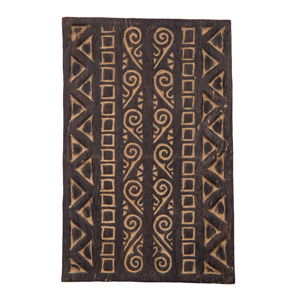 Handcarved Blockprint Panel - LG - Luna Bazaar - Discover. Decorate. Celebrate