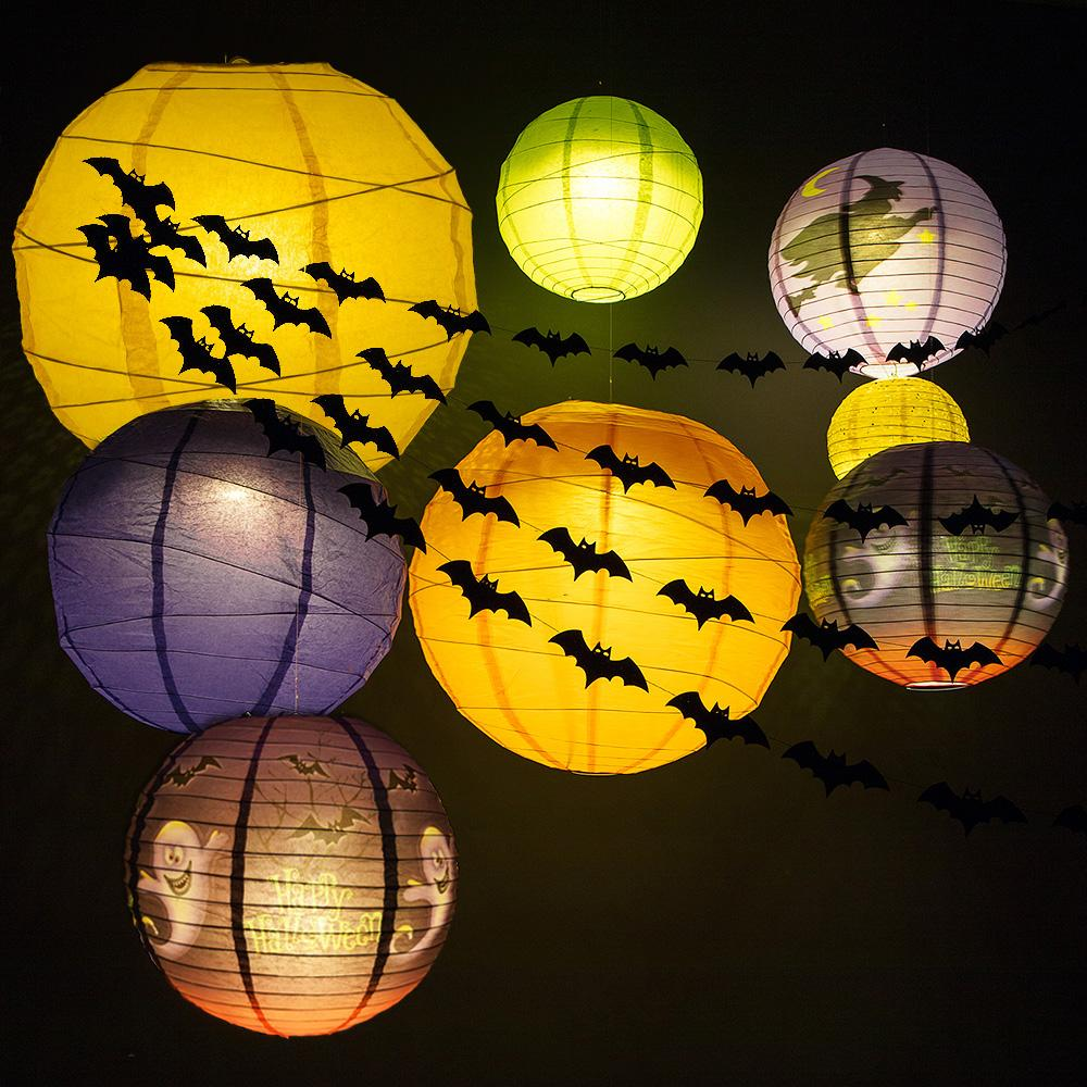 Ultimate 18-pc Halloween Party Pack Decoration Combo Set w/ 8 Lantern Lights - Luna Bazaar - Discover. Decorate. Celebrate