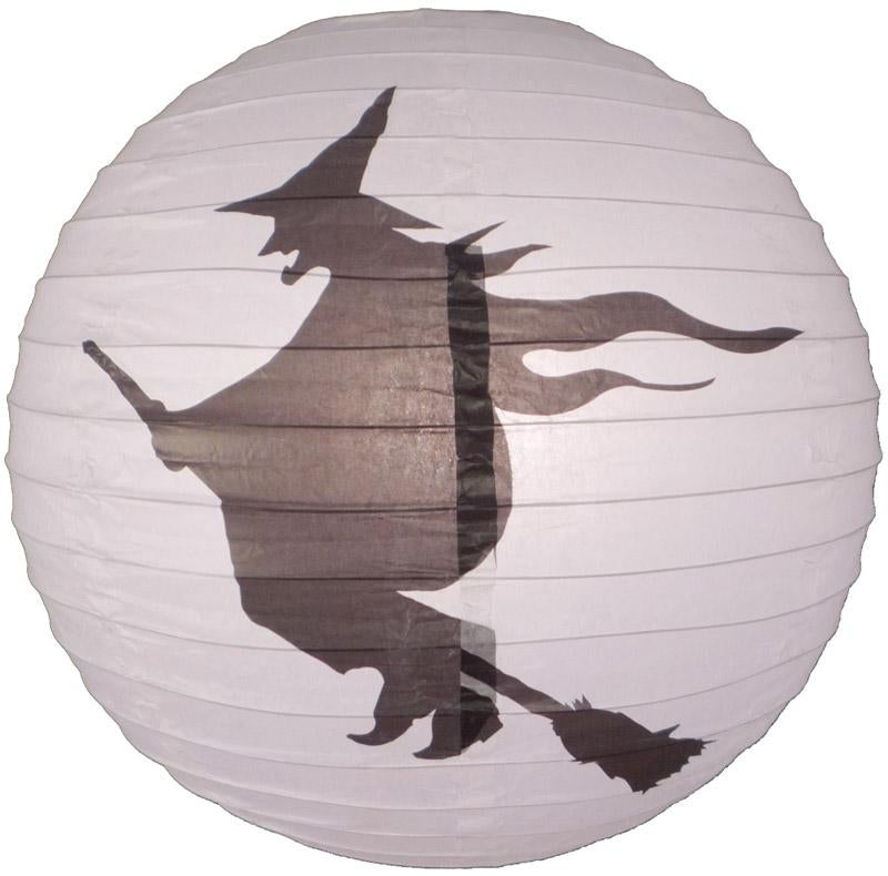 "CLOSEOUT 16"" Flying Witch Paper Lantern - Luna Bazaar 