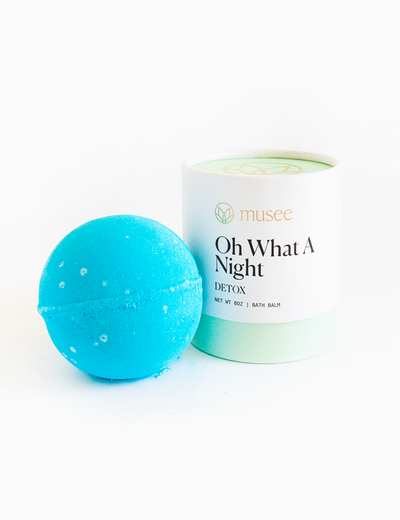 "Bath balm called ""oh what a night"" clarifies skin of impurities and makes a great gift"