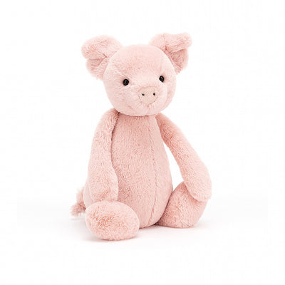"Soft plush little piglet is only 7"" tall"