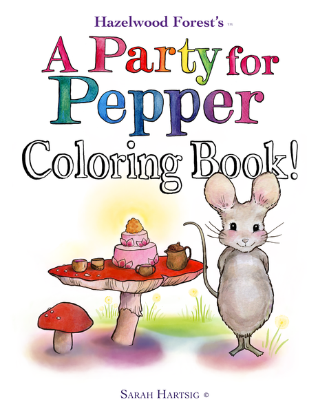 A Party for Pepper - The Coloring Book