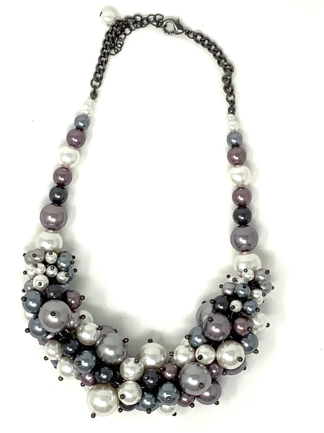 Grape-Styled Pearl Necklace