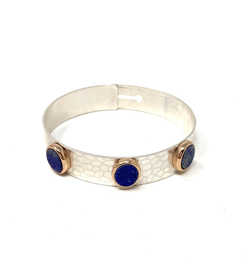 Lapis Semi Precious Bangle