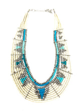 Load image into Gallery viewer, Thick Collar Tribal Necklace