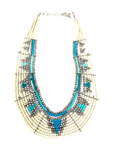 Thick Collar Tribal Necklace