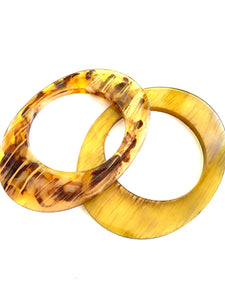 Chunky Tortoise Shell and Matching Bangles