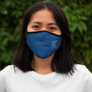 Copy of Life You Lead - Fitted Polyester Face Mask - Blue Ocean
