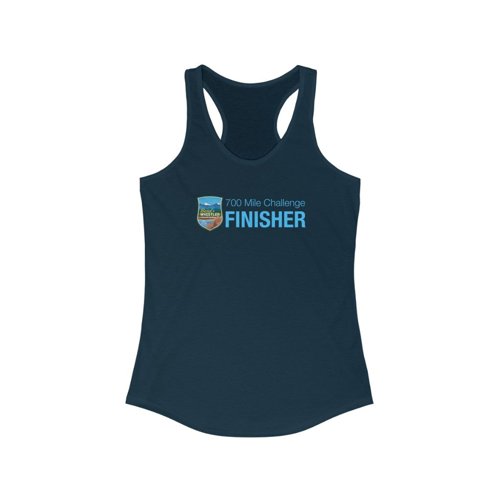 Bend to Whistler - Women's Ideal Racerback Tank