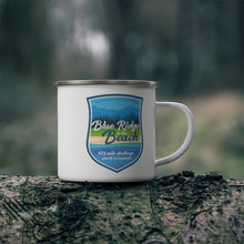 Load image into Gallery viewer, Blue Ridge to The Beach - Enamel Campfire Mug