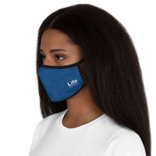 Load image into Gallery viewer, Life You Lead - Fitted Polyester Face Mask - Blue Ocean