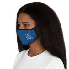 Load image into Gallery viewer, Copy of Life You Lead - Fitted Polyester Face Mask - Blue Ocean