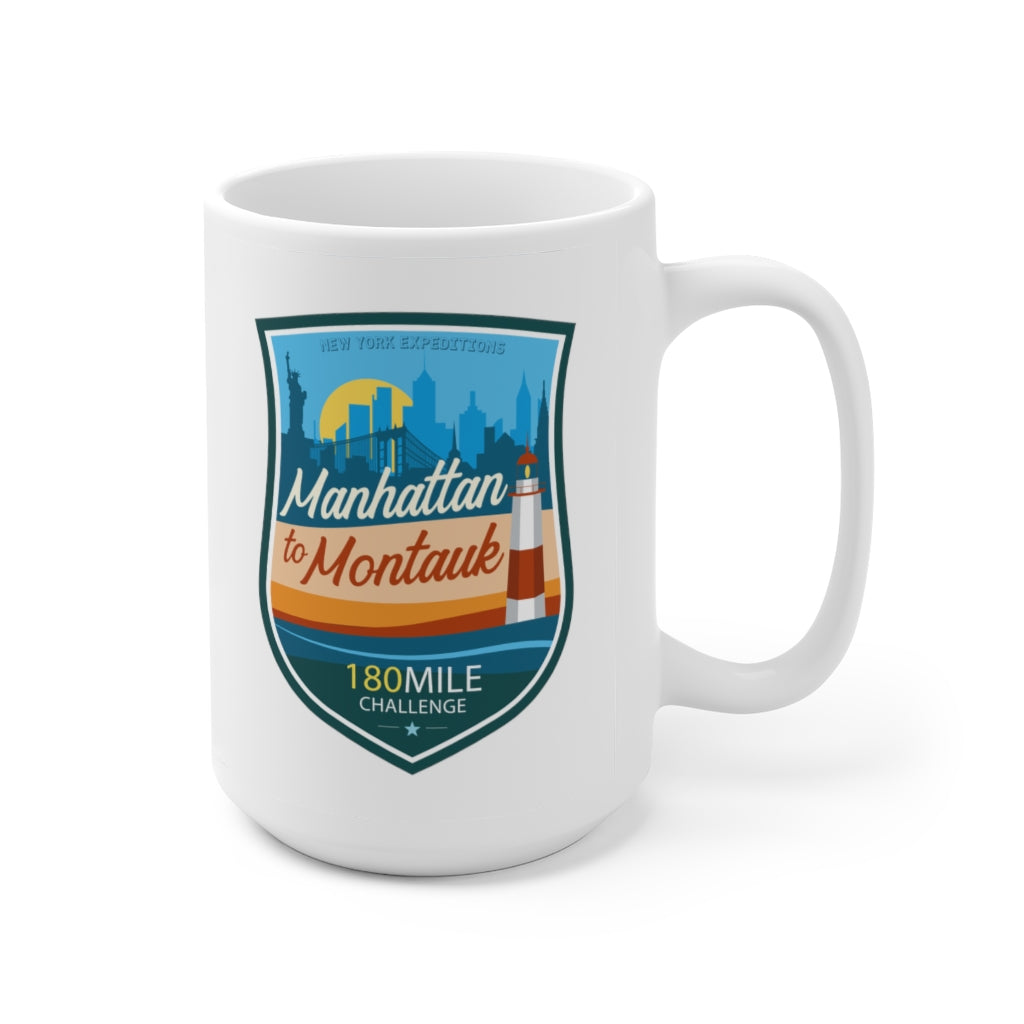 Manhattan to Montauk - Ceramic Mug 15oz