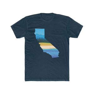 Tahoe to Malibu - California Cotton Crew Tee